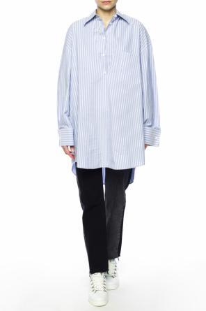 Two-layered oversize shirt od MM6 Maison Margiela