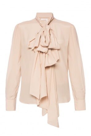 Lacing detail shirt od See By Chloe