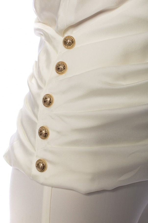 Embellished top od Balmain