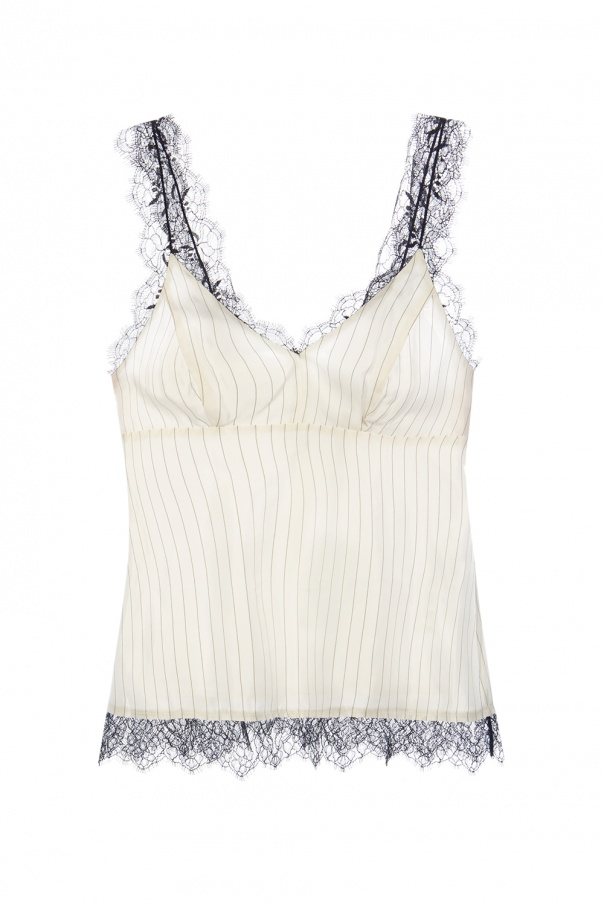 AllSaints 'Skylar' top with lace trim