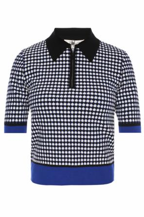 Patterned blouse with collar od Diane Von Furstenberg