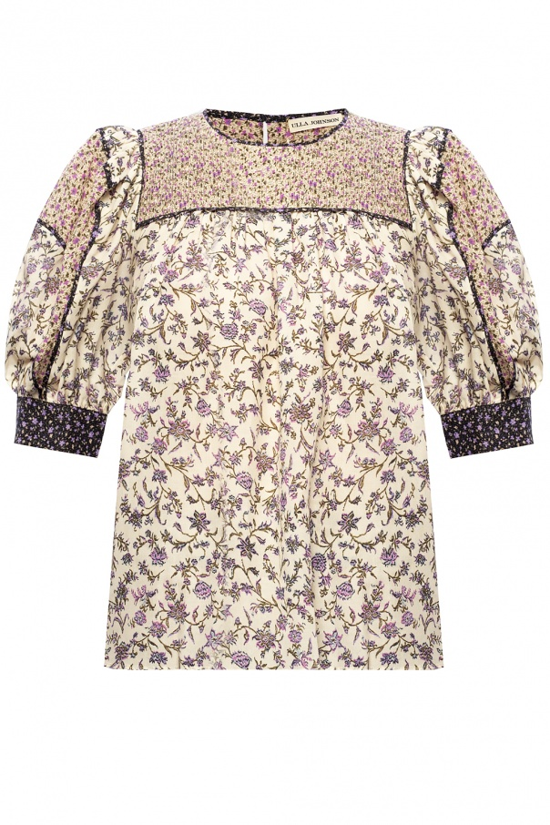 Ulla Johnson 'Stella' patterned top