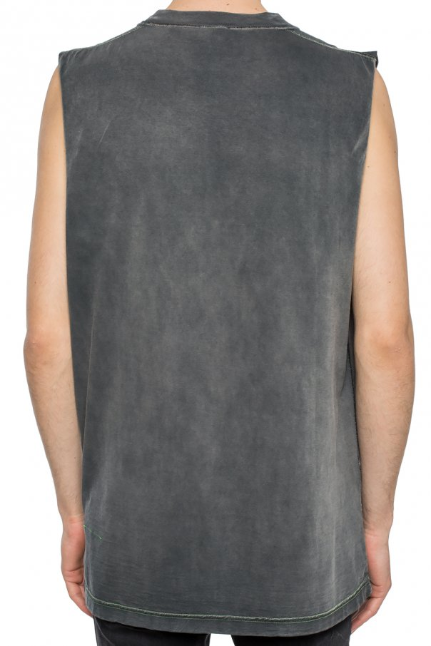 Reversible sleeveless t-shirt od Diesel