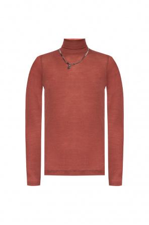 Ribbed turtleneck sweater od Diesel