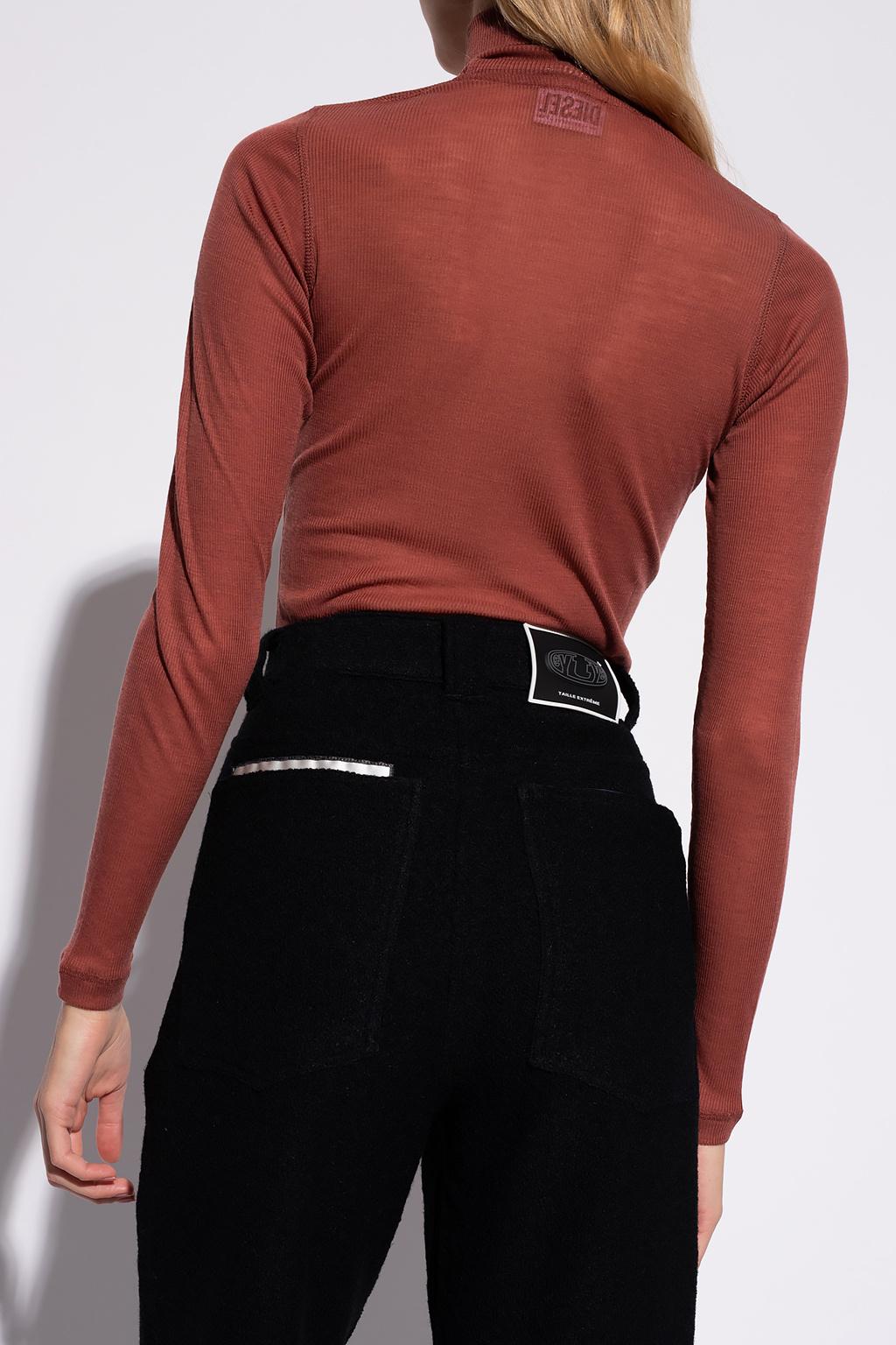 Diesel Ribbed turtleneck sweater