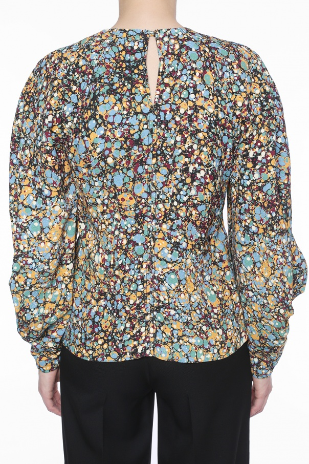 Patterned blouse od Victoria Beckham