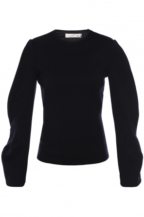 Crinkled sleeves top od Victoria Beckham