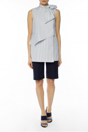 Striped top with bow od Victoria Victoria Beckham