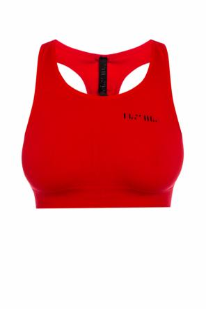 Sports bra with logo od Unravel Project