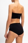 Balmain Crop top w/ denuded shoulders