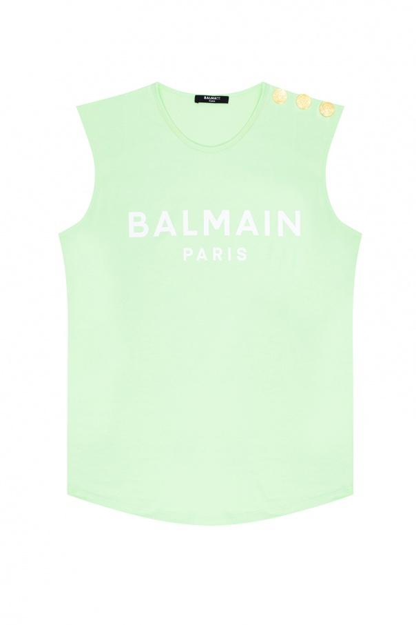 Balmain Top with logo
