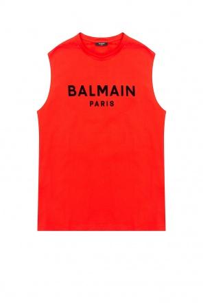 Branded tank top od Balmain