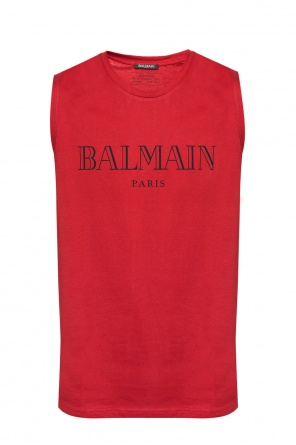 Sleeveless t-shirt od Balmain