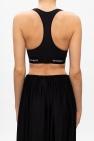 Vetements Cropped sports bra top