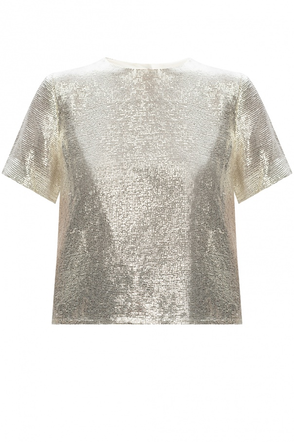 Rag & Bone  Sequined T-shirt