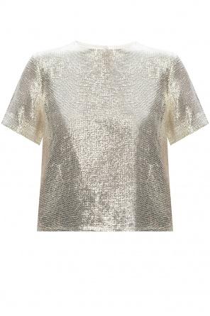 T-shirt z cekinami od Rag & Bone