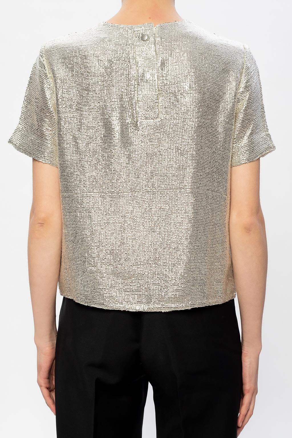 Rag & Bone  Sequined T-shirt