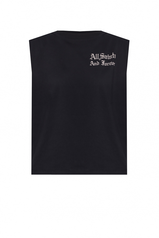 AllSaints 'We Are Coni' sleeveless T-shirt