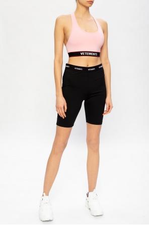 Sports bra with logo od Vetements