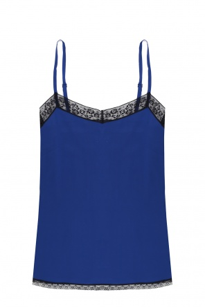 Lace-trimmed top od Zadig & Voltaire