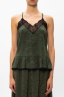 Zadig & Voltaire Lace-trimmed camisole