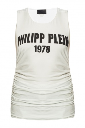 Gathered tank top od Philipp Plein