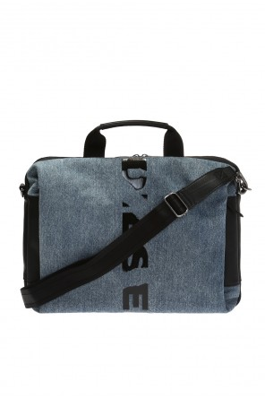 Laptop bag with a logo od Diesel