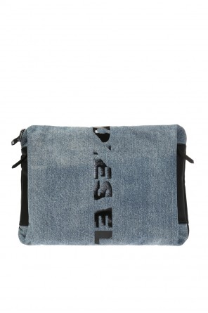 Clutch bag with a logo od Diesel