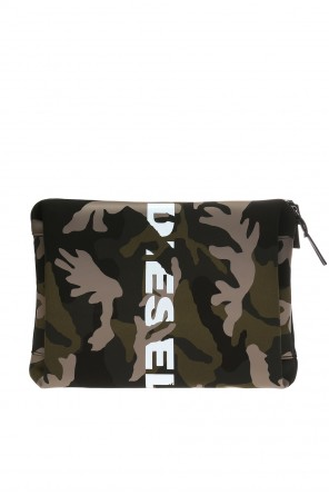 Clutch bag with a camo motif od Diesel
