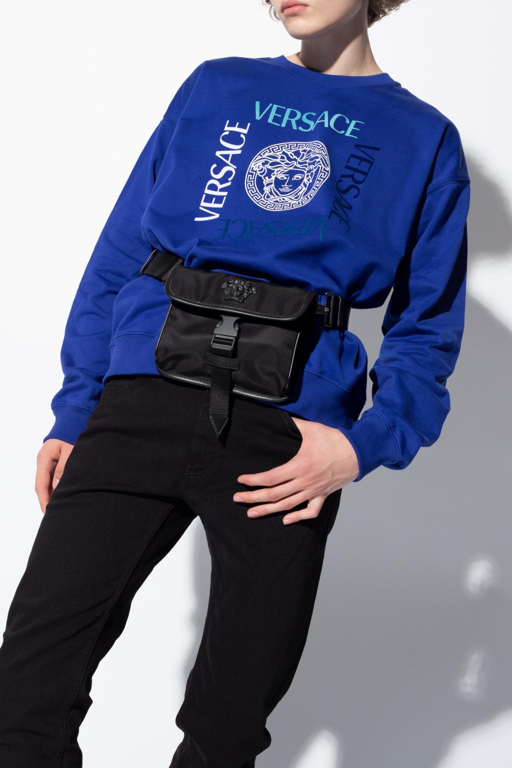 Versace Medusa head shoulder bag