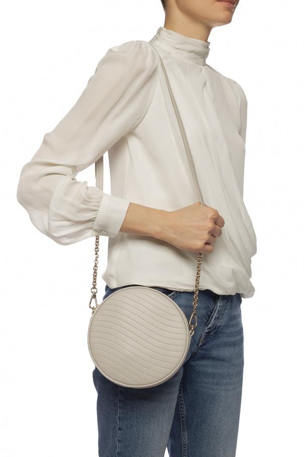 'swing' quilted shoulder bag od Furla
