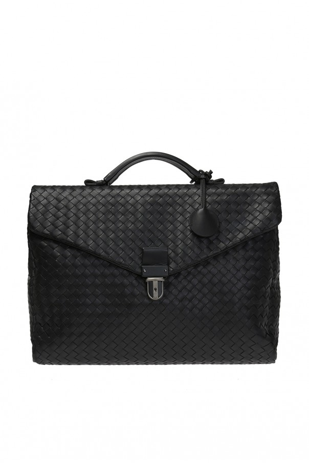 61313d0f94 Leather Briefcase Bottega Veneta - Vitkac shop online