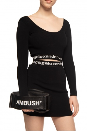 Handbag with logo od Ambush