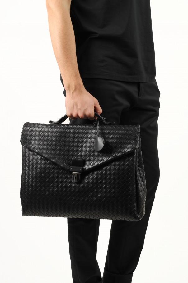 c24c2110ed Large Black Intrecciato Briefcase Bottega Veneta - Vitkac shop online
