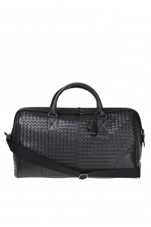 Leather duffel bag od Bottega Veneta