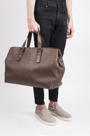 Brown tote bag od Bottega Veneta