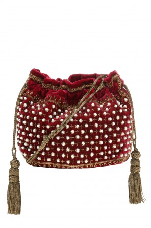 Beaded shoulder bag od Etro