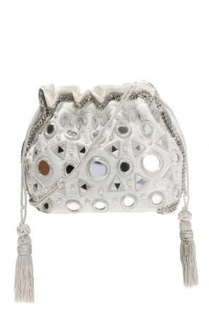 Mirror-appliquéd shoulder bag od Etro