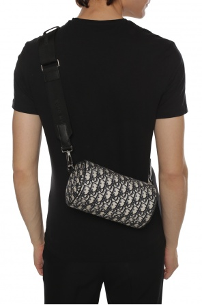 'roller' embroidered shoulder bag od Dior