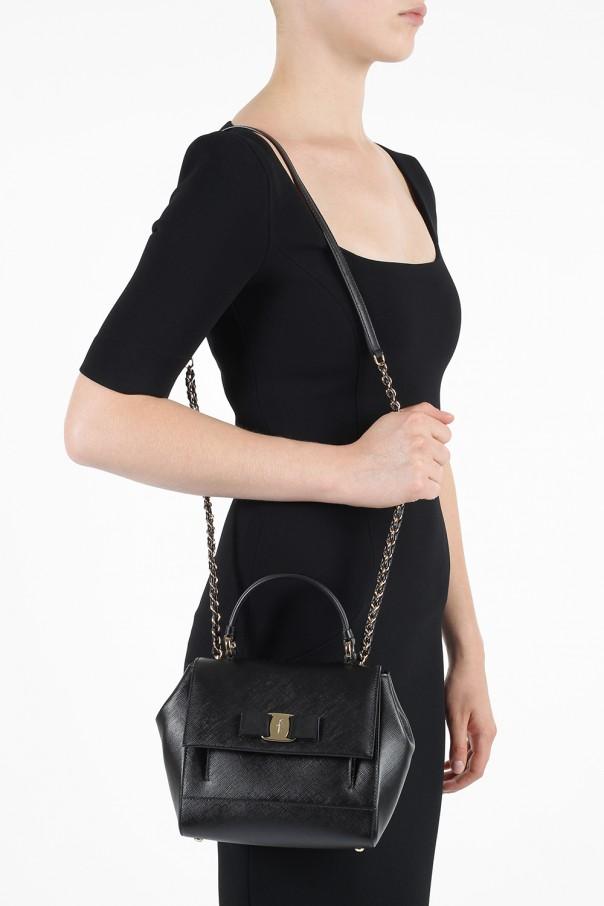 3b2f370668 Carrie  leather shoulder bag Salvatore Ferragamo - Vitkac shop online