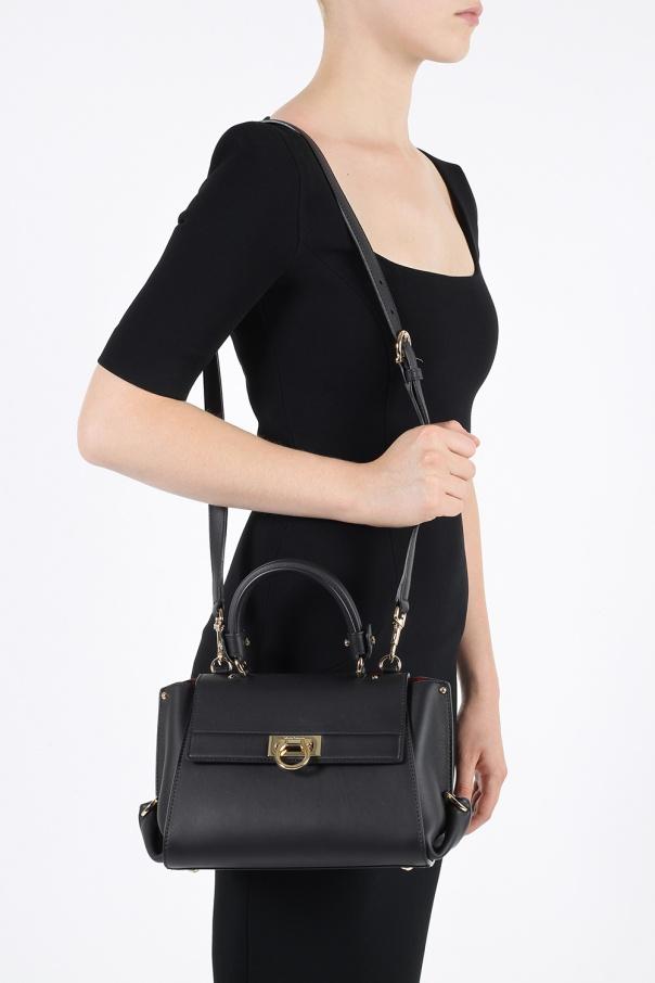 159b2d3eee0 Sofia  leather shoulder bag Salvatore Ferragamo - Vitkac shop online