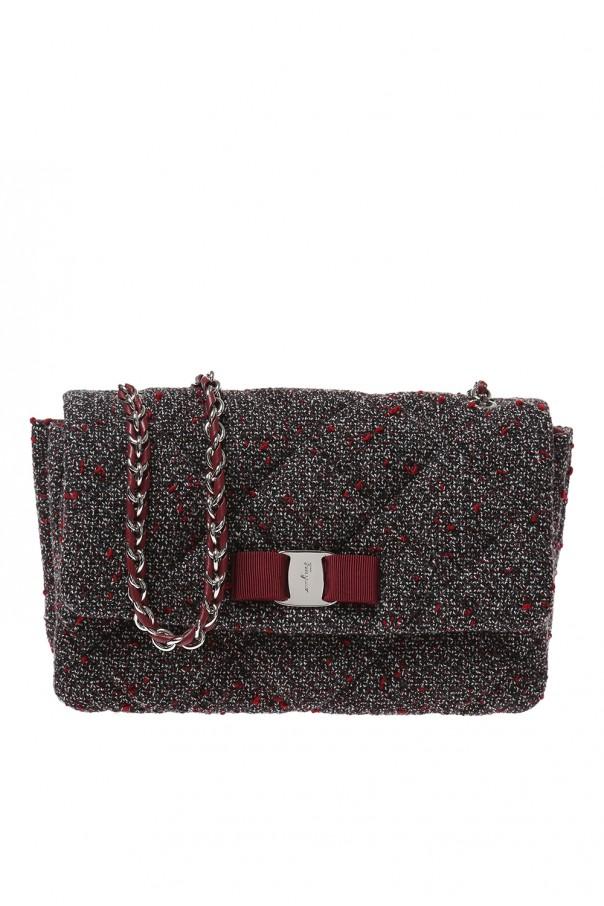 Gelly  quilted shoulder bag Salvatore Ferragamo - Vitkac shop online ea27d93c5e19e