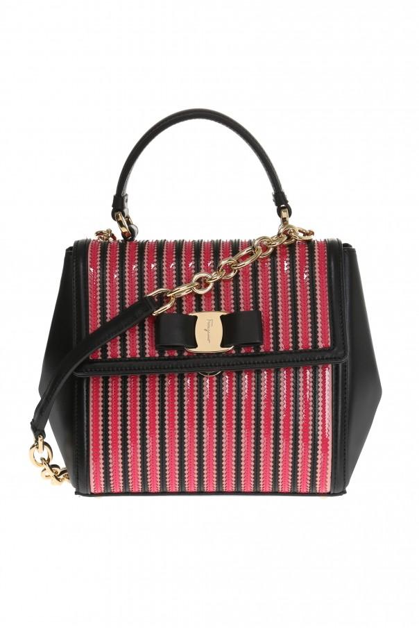 27dc76d891 Carrie  leather shoulder bag Salvatore Ferragamo - Vitkac shop online