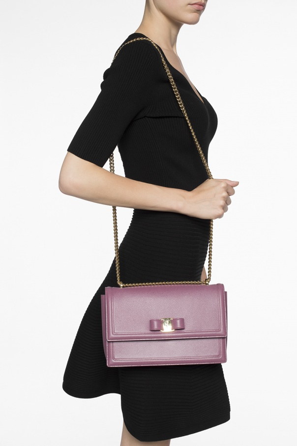 30ff38977 Ginny' shoulder bag Salvatore Ferragamo - Vitkac shop online