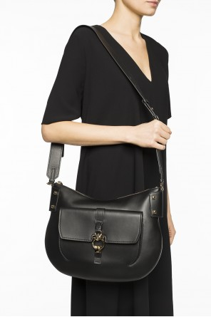 Metal logo shoulder bag od Salvatore Ferragamo