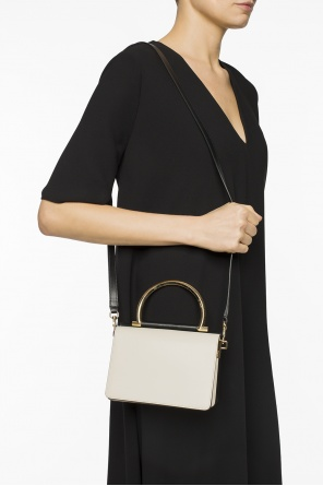 Metal handle shoulder bag od Salvatore Ferragamo