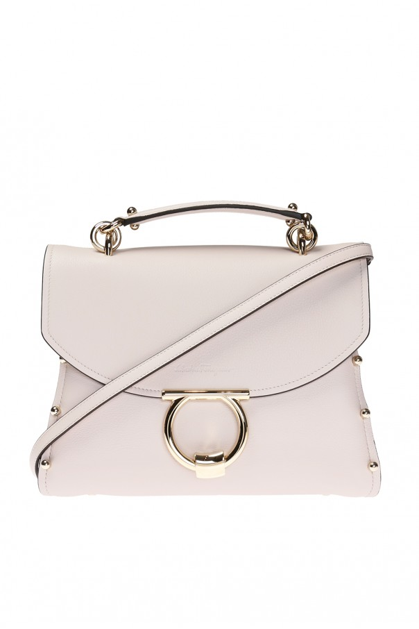 38c579fda7c 'margot' shoulder bag with 'gancini' motif od Salvatore Ferragamo. '