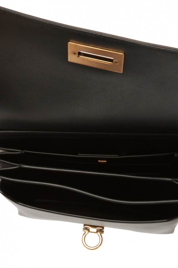 Leather shoulder bag od Salvatore Ferragamo