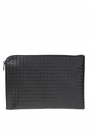 Leather briefcase od Bottega Veneta