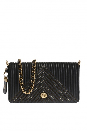 Studded shoulder bag od Coach